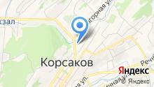 Следственный отдел по Корсаковскому району на карте