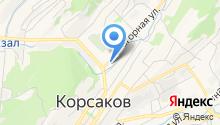 Корсаковская Нефтяная компания на карте