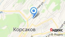Корсаковский центр занятости населения на карте