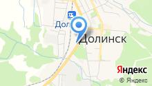 Следственный отдел по г. Долинску на карте