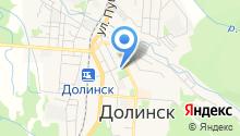Централизованная Клубная Система Муниципального образования г. Долинск на карте