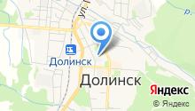 Долинский хлебокомбинат, ЗАО на карте