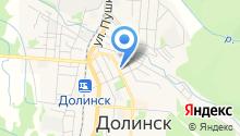 Отдел МВД России по городскому округу Долинский на карте