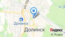 Отдел социальной защиты Долинского района на карте