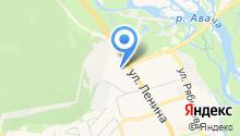 Лыжно-прокатная база Елизовского комитета по физкультуре и спорту на карте