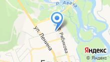 Федерация пейнтбола Камчатского края на карте