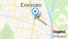 Адвокат Червякова Е.Д. на карте