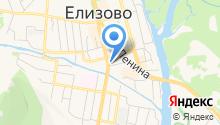 Элька на карте