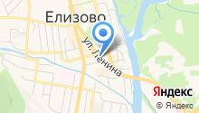 Избирательная комиссия Елизовского муниципального района на карте