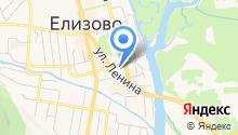 Призывной пункт по городу Елизово и Елизовскому району на карте