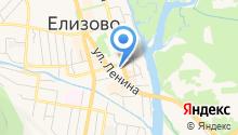 Управление Пенсионного фонда РФ в Елизовском районе Камчатского края на карте