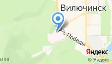Вилючинская городская больница на карте