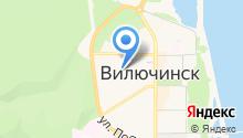 Мильковское на карте