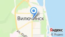 Вилючинский на карте