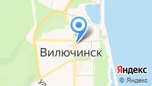 Солана на карте