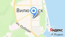 Якорь на карте