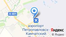 Полет на карте
