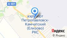 Таможенный пост на карте