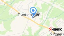 Администрация Пионерского сельского поселения на карте
