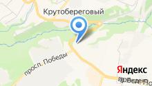 Скания на карте