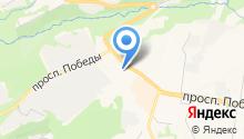 Антей-М на карте