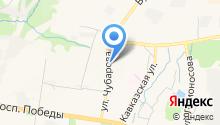 Баграм-ДВ на карте