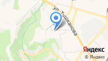 Вилюй на карте