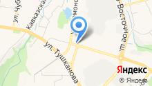 АвтоВизит на карте