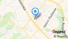 Автостоянка, МУП на карте