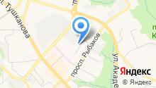 Бухгалтерская служба на карте
