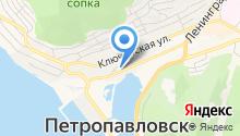 Главное управление МЧС России по Камчатскому краю на карте