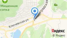 Городская библиотека №1 им. Н.В. Санеева на карте