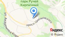 Детский сад №41, Журавушка на карте