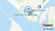 Балтийское поисково-спасательное подразделение по проведению подводных работ специального назначения на карте