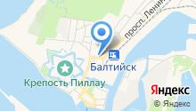 Военная прокуратура Балтийского гарнизона на карте