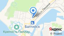 Отдел Вневедомственной охраны по Балтийскому муниципальному району на карте