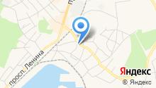 Балтийский центр автозапчастей на карте
