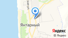 Пожарно-спасательная часть №33 Янтарного городского округа на карте