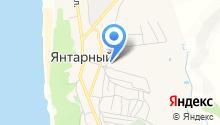 ЭО-Янтарный, МУП на карте