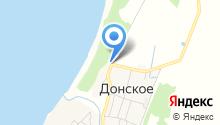 Водоканал Донское, МКП на карте