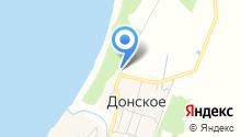 Администрация муниципального образования городское поселение пос. Донское на карте