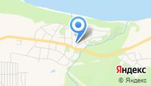 Баловень на карте