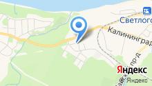 Янтарная долина на карте