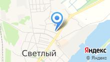 Светловское бюро путешествий и экскурсий на карте