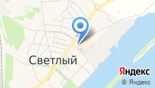 Карапуз+ на карте
