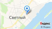 Башмачок на карте