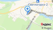 Адвокат Мещеряков Н.Е. на карте