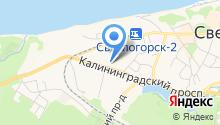 Администрация муниципального образования Светлогорского района на карте
