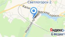Сэтл Эстейт на карте