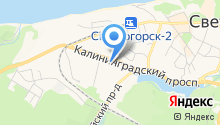 Управление Пенсионного фонда РФ в Светлогорском районе Калининградской области на карте